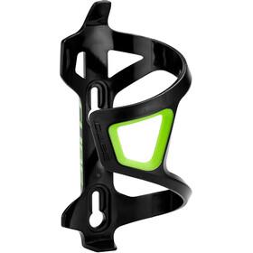 Cube HPP Left-Hand Sidecage Uchwyt na bidon, czarny/zielony